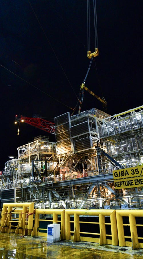 Nova module installed on Gjøa platform