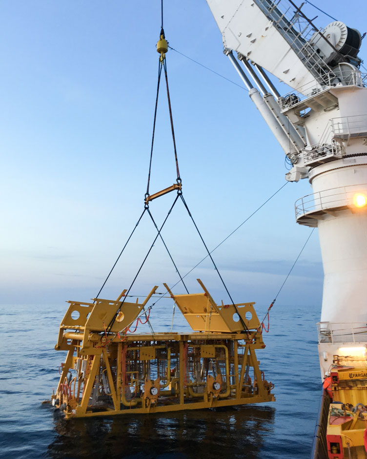 Wintershall Dea Subsea Template Dvalin