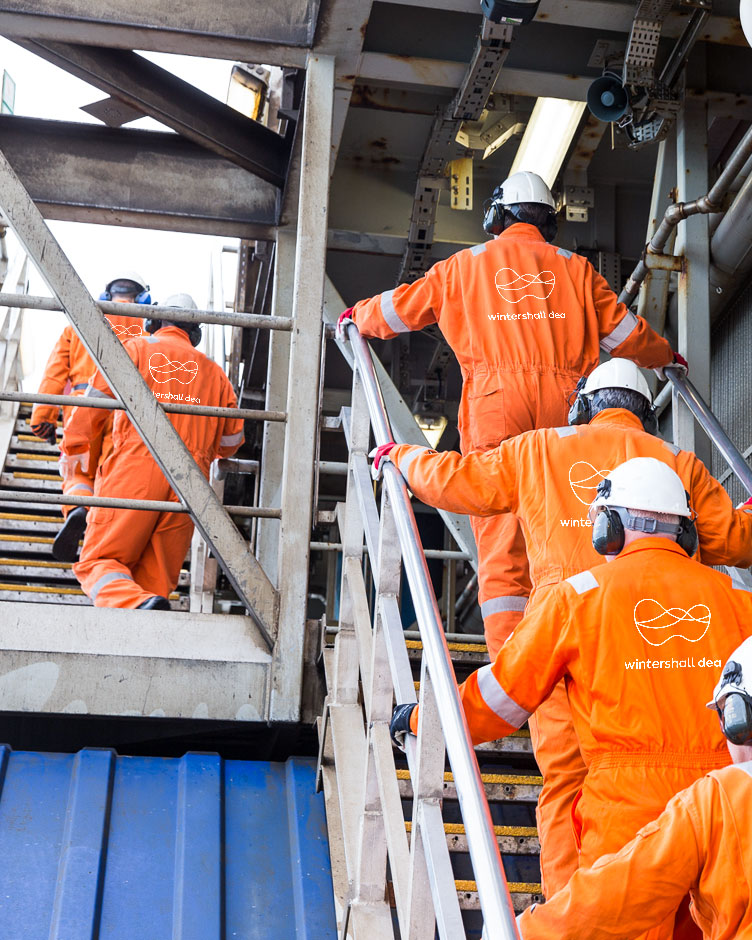 Wintershall Dea Offshore Platform Brage Employees