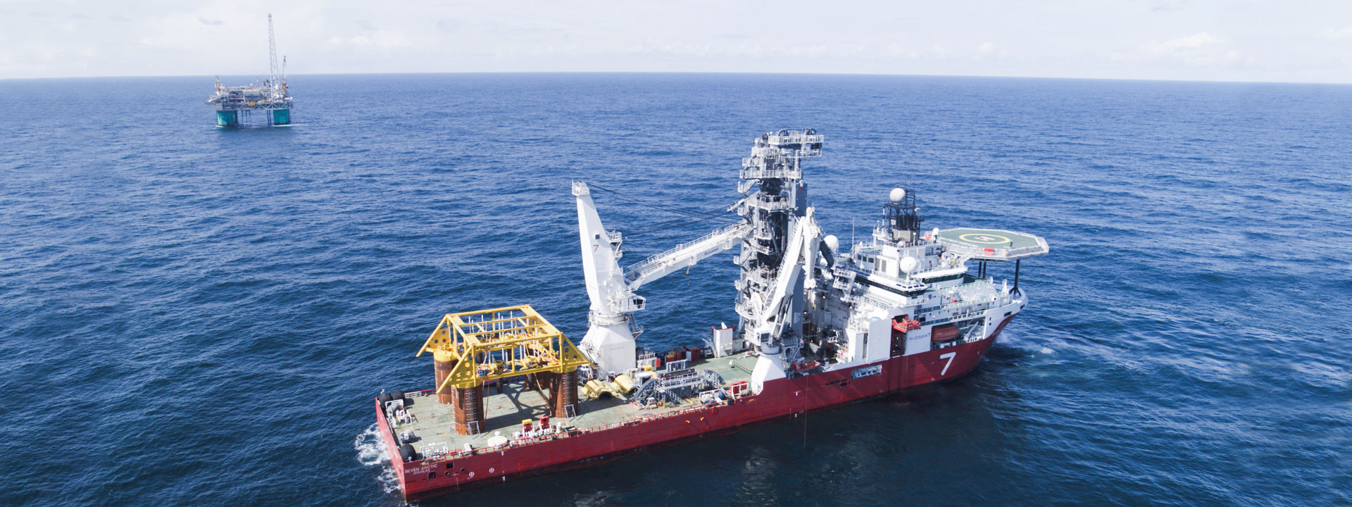 Wintershall Dea Ship Platform Gjøa