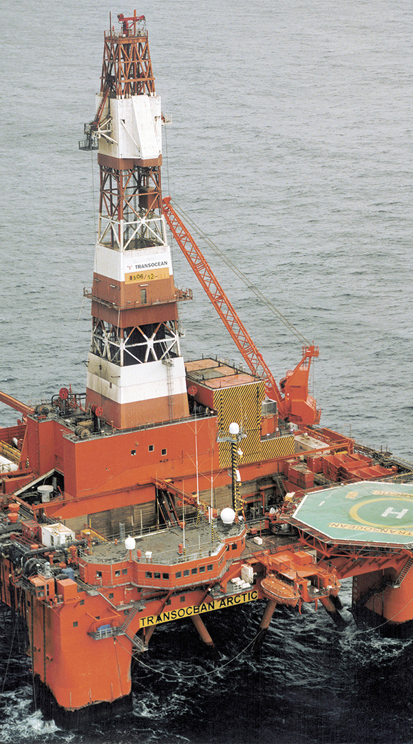 Wintershall Dea Drilling Platform Dvalin
