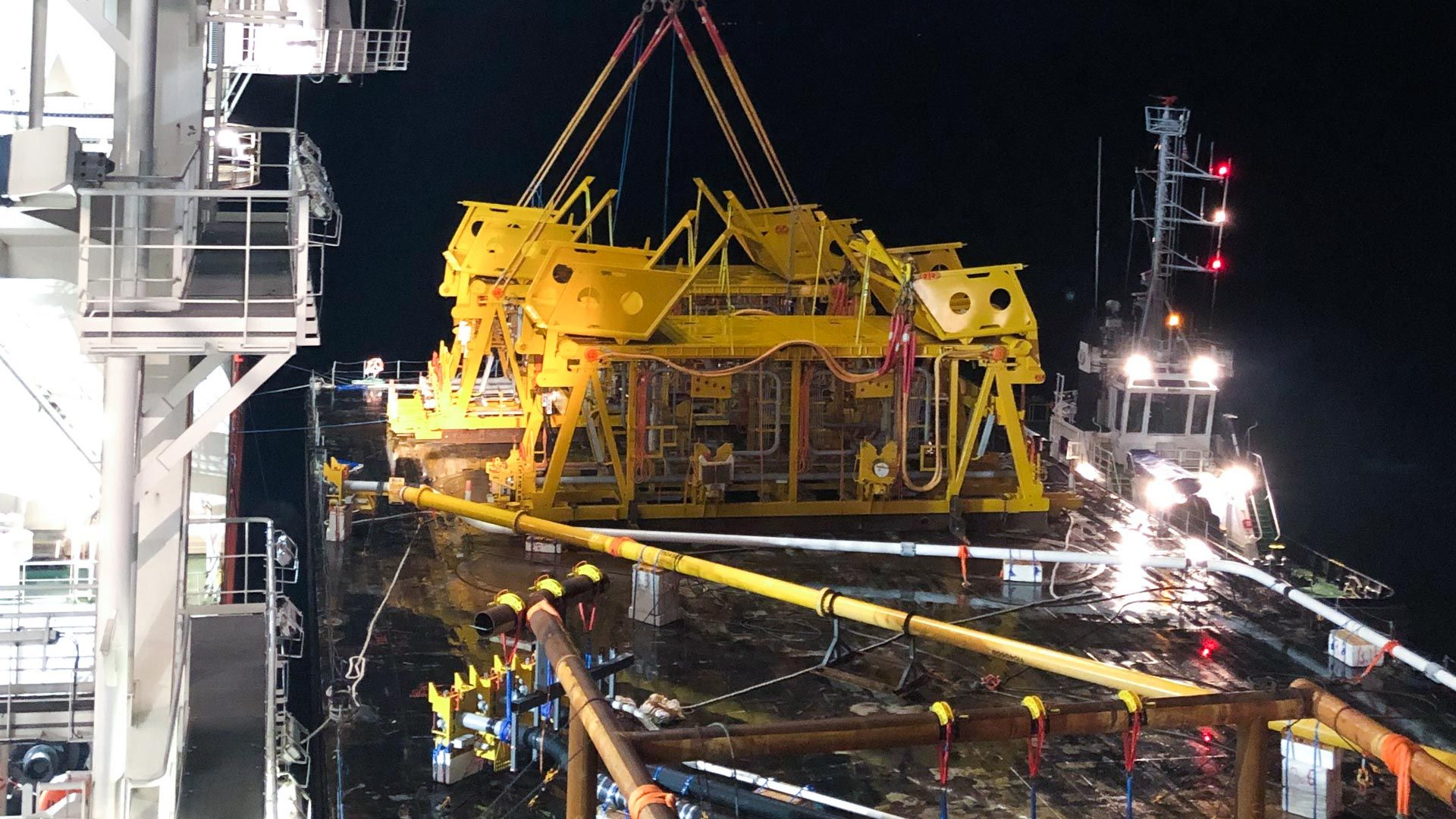 Wintershall Dea installation Nova subsea template