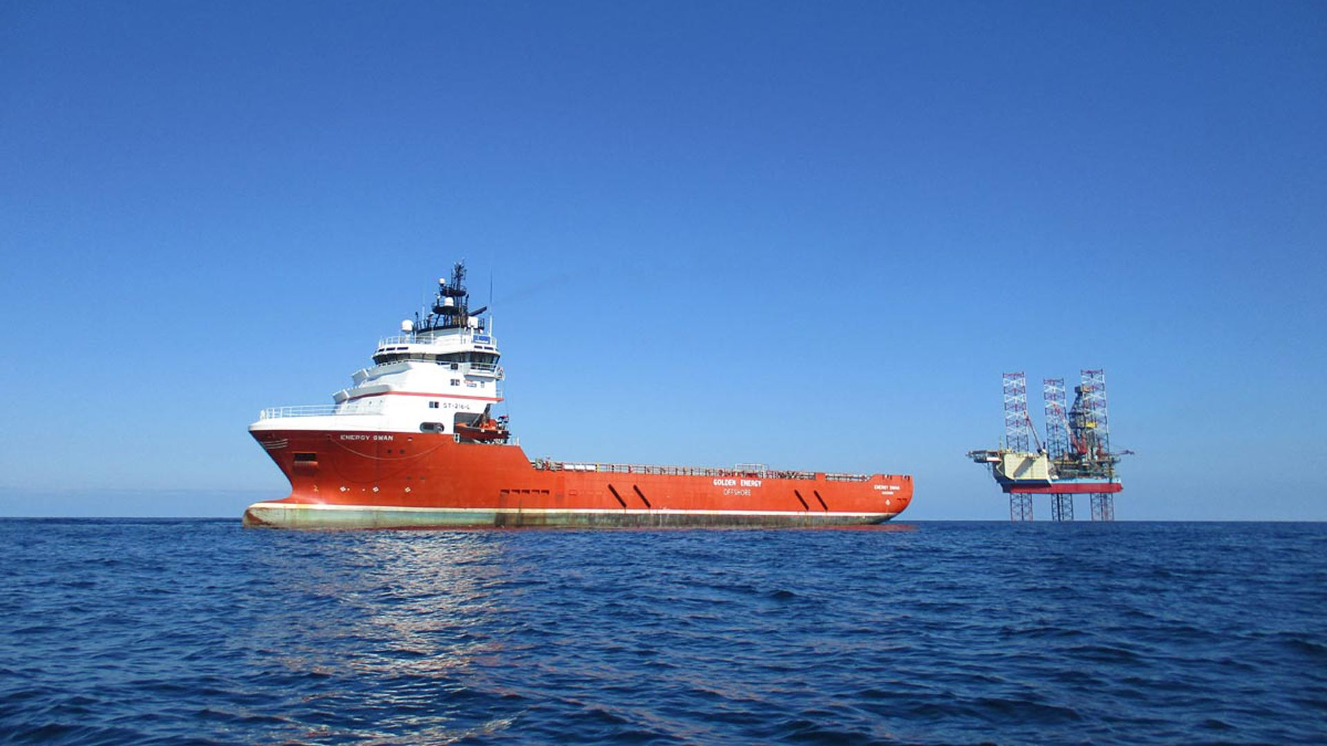 Brage's supply vessel Energy Swan WintershallDea