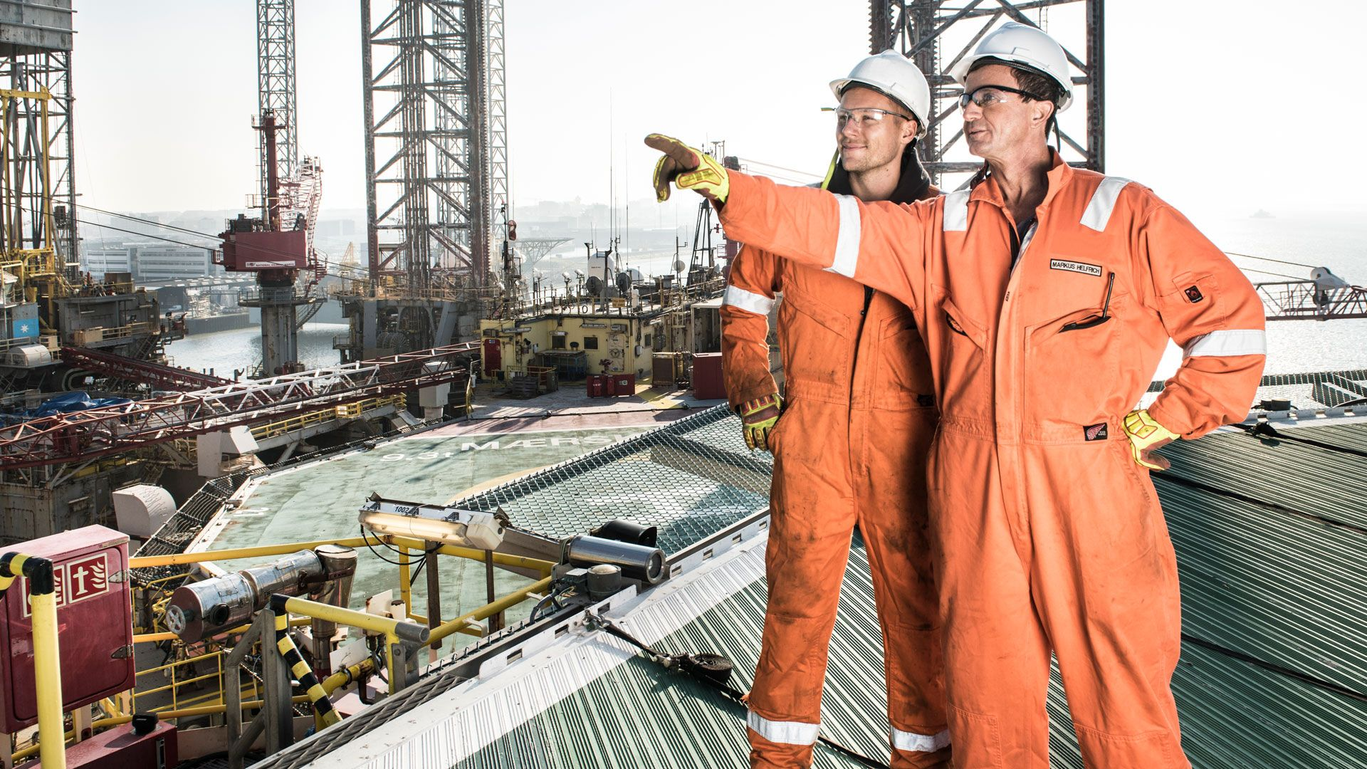 Wintershall Dea Platform Maersk Resolve Employees