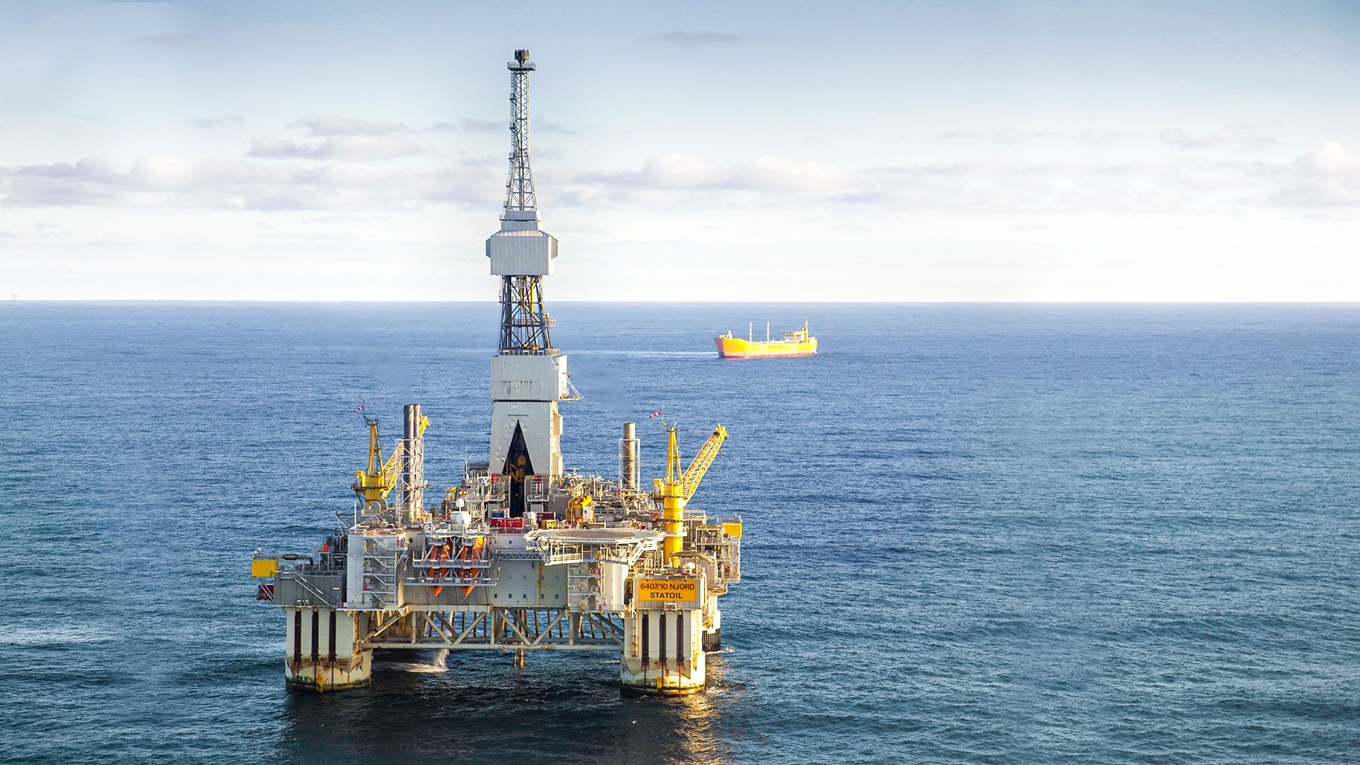 Wintershall Dea Offshoreplattformen Njord