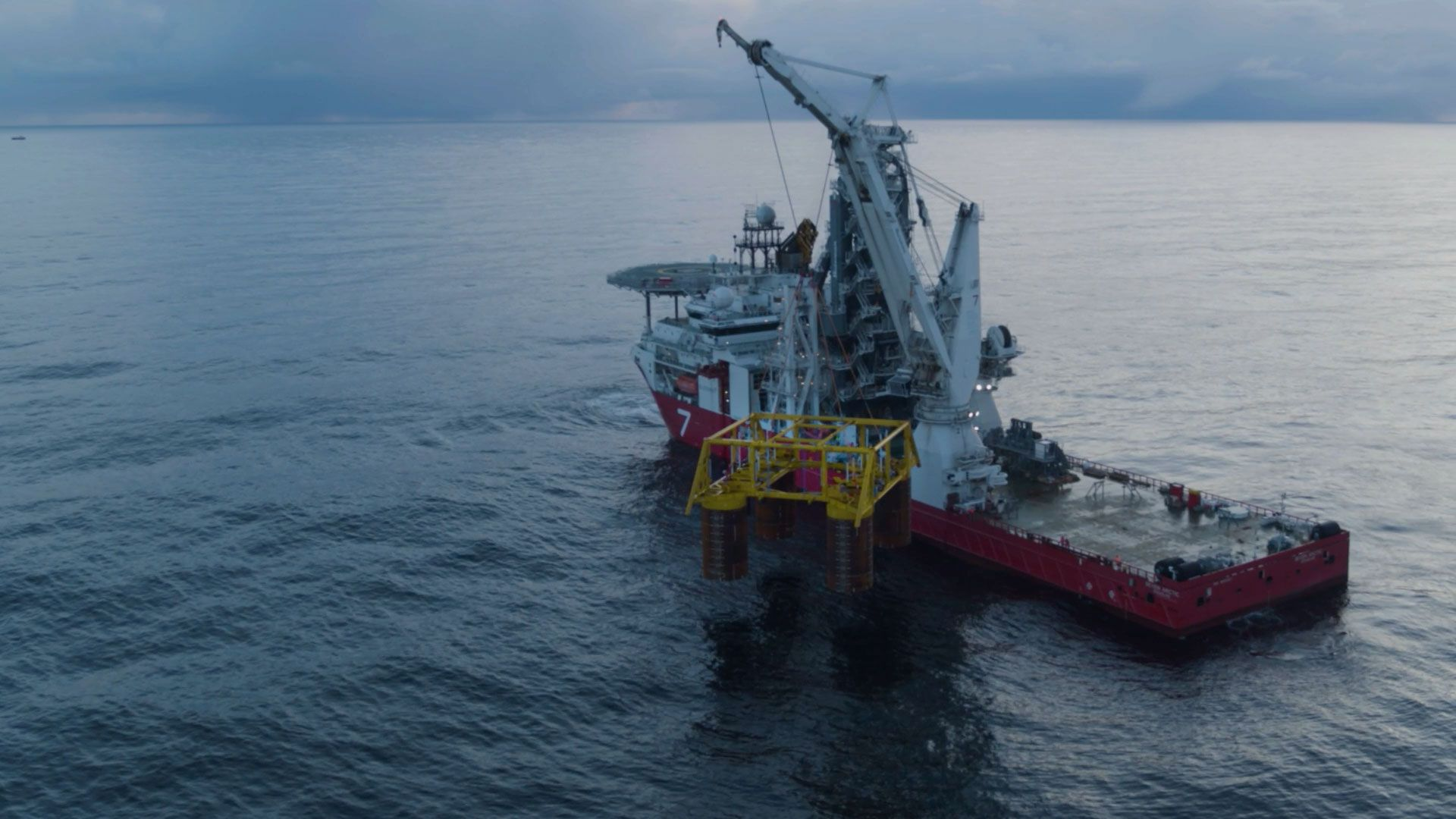 Video: Installation of subsea templates in Nova field – a milestone!